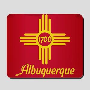 Albuquerque City Flag Mousepad