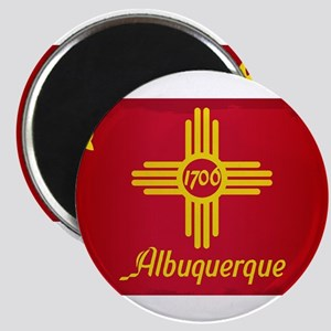 Albuquerque City Flag Magnets