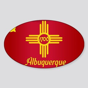 Albuquerque City Flag Sticker