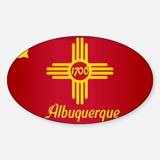 Albuquerque City Flag Decal