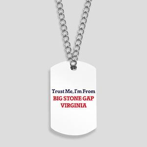 Trust Me, I'm from Big Stone Gap Virginia Dog Tags