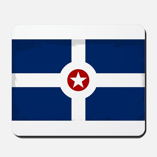 Indianapolis City Flag Mousepad