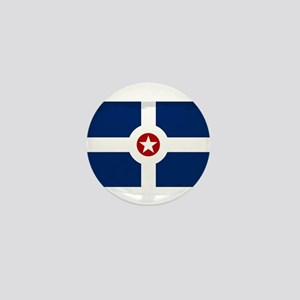 Indianapolis City Flag Mini Button