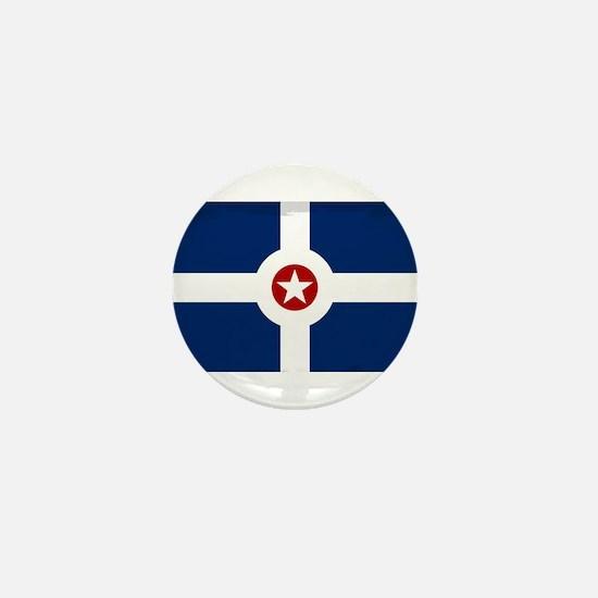 Indianapolis City Flag Mini Button