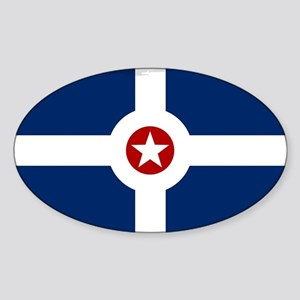 Indianapolis City Flag Sticker