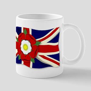 Union Jack With English Rose Mugs