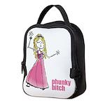 Pb Pink Girl Neoprene Lunch Bag