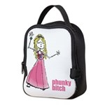 Pb Pink Girl Neoprene Lunch Bag