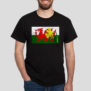 Daffodil Welsh Dragon Flag T-Shirt