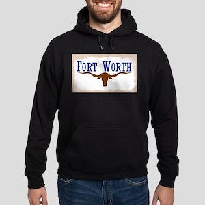 Flag of Fort Worth Hoodie (dark)