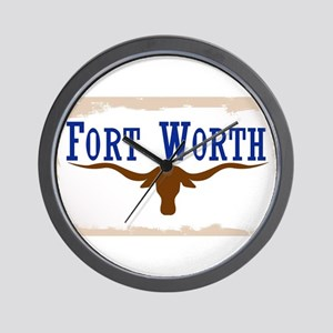 Flag of Fort Worth Wall Clock