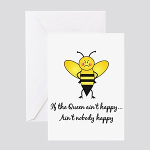 Mom to bee greeting cards cafepress if the queen aint happy greeting card m4hsunfo