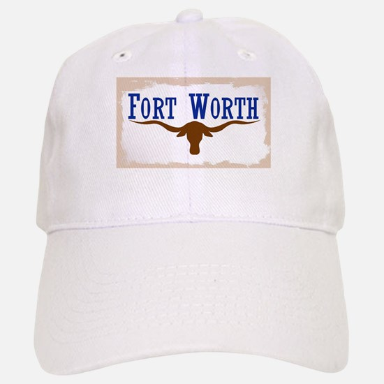 Flag of Fort Worth Baseball Baseball Cap