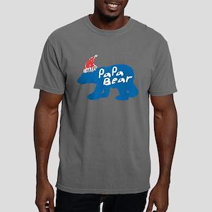 Papa Bear with Christmas Hat T-Shirt