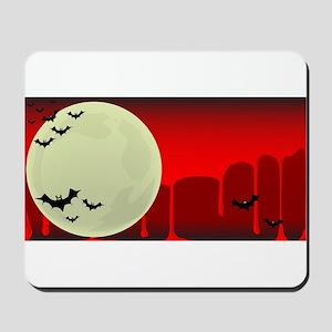 Vampire Bats Background Mousepad