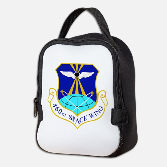 460th Space Wing Crest Neoprene Lunch Bag