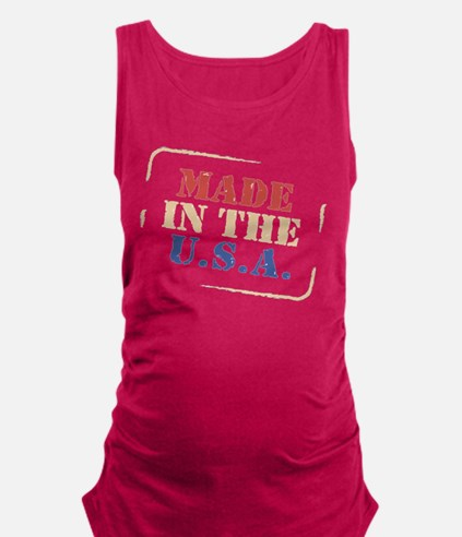 Cute Made in the usa Maternity Tank Top