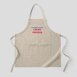 Trust Me, I'm from Crewe Virginia Apron