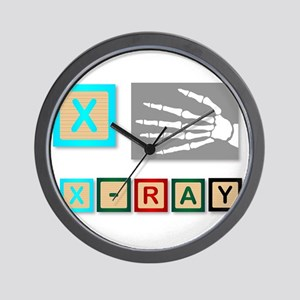 X Is For X Ray Wall Clock