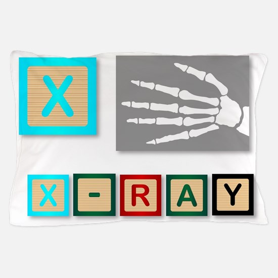 X Is For X Ray Pillow Case