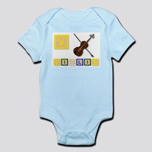 V Is For Violin Body Suit