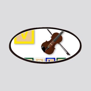 V Is For Violin Patch