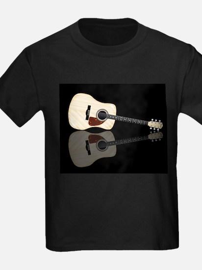 Pale Acoustic Guitar Reflection T-Shirt