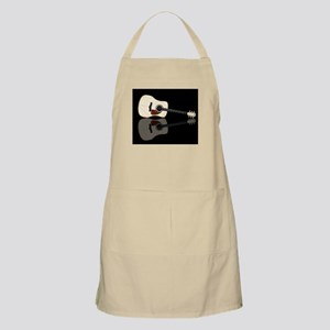 Pale Acoustic Guitar Reflection Apron