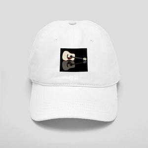 Pale Acoustic Guitar Reflection Cap