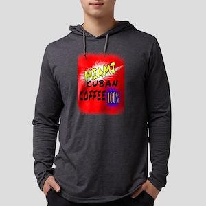 MIAMI CUBAN COFFEE 100% Long Sleeve T-Shirt