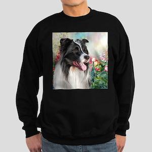 Border Collie Painting Sweatshirt