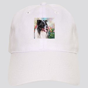 Border Collie Painting Baseball Cap