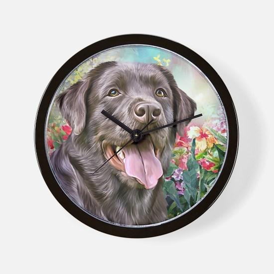 Labrador Painting Wall Clock