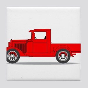 Early Pickup Truck Tile Coaster