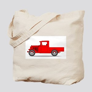 Early Pickup Truck Tote Bag