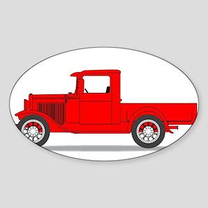 Early Pickup Truck Sticker