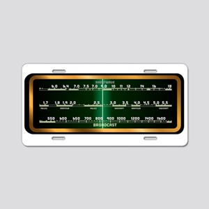 Valve Radio Screen Aluminum License Plate
