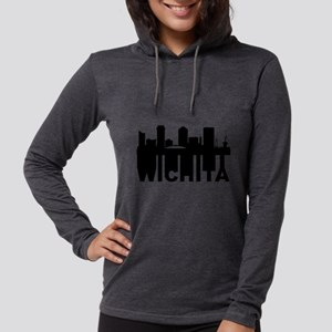 Roots Of Wichita KS Skyline Long Sleeve T-Shirt
