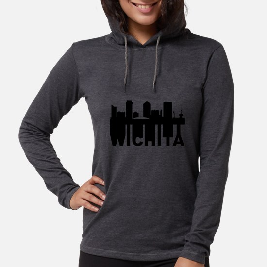 Roots Of Wichita KS Skyline Long Sleeve T-Shirt