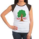 Earth Day : Tree Hugger, Hug me! Women's Cap Sleev