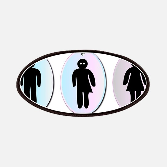 Three Toilet Signs Patch