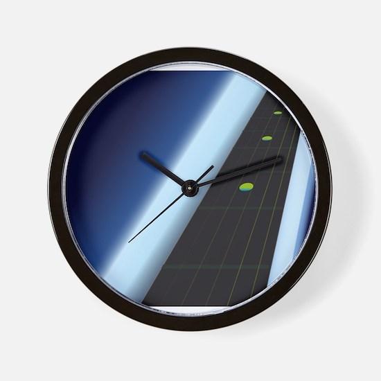 Ebony Fingerboard Wall Clock