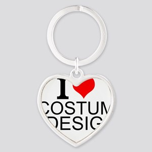 I Love Costume Design Keychains