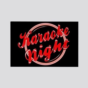 Karaoke Night Florescent Light Magnets