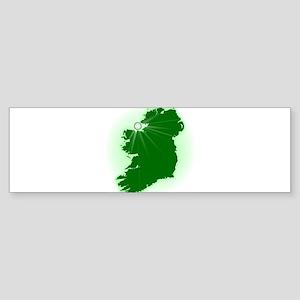 Eire The Emerald Isle Bumper Sticker