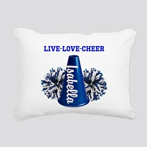 cheerleader personalize Rectangular Canvas Pillow