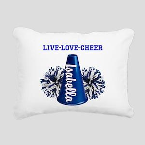 cheerleader personalize Rectangular Canvas Pillow