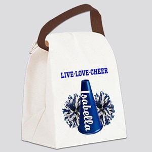 cheerleader personalize Canvas Lunch Bag