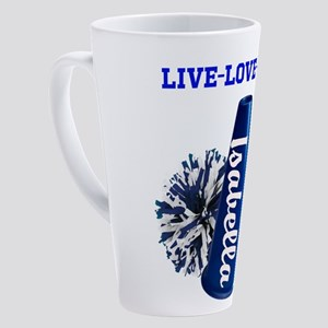 cheerleader personalize 17 oz Latte Mug