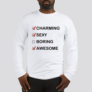 Not Boring Long Sleeve T-Shirt